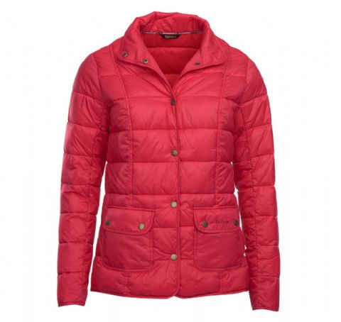 Barbour Moorfoot Quilt Jacket - Raspberry Ripple -  LQU0906PI71
